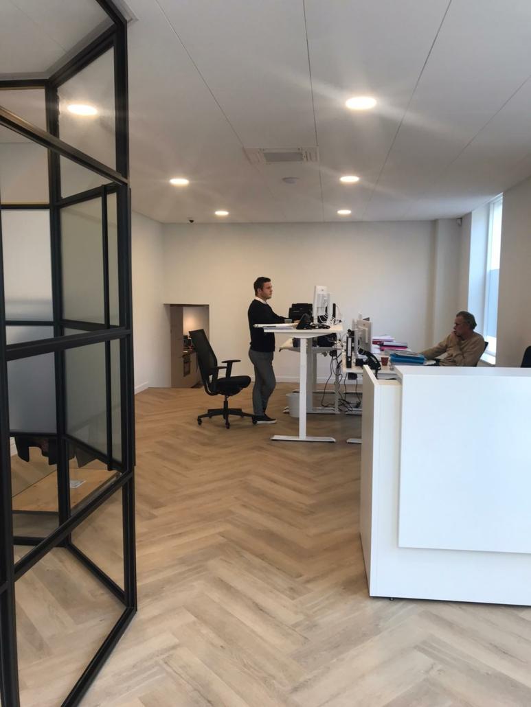 nieuw kantoor aan de sluisstraat